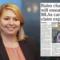 Brexit: Karen Bradley accused of 'double standards' for rule change on MLAs' expenses