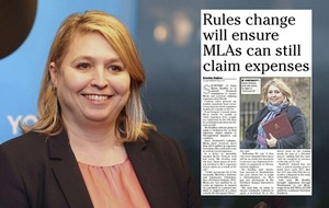 Stormont expenses rule change is 'good governance', Karen Bradley's office says