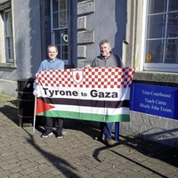 Case against Dungannon man arrested after Palestinian flag incident struck out by Co Meath court