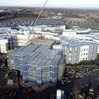 McAvoy completes complex build phase for hospital wing in Northumbria