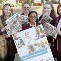Neighbourhood News Drop: Pupils 'share the love' as they reach across generations