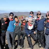 Comic Relief Mount Kilimanjaro climbers reach summit