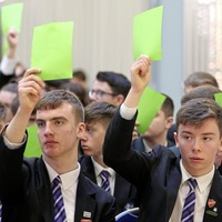 Hundreds of pupils take part in Brexit `symposium'