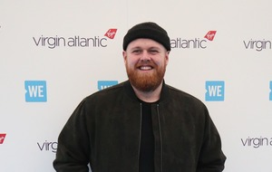 Tom Walker says he'll keep his Brit in the bathroom – but it hasn't arrived yet