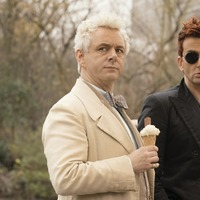 Michael Sheen and David Tennant amuse as angel and demon in Good Omens trailer