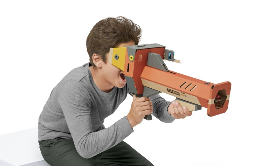 Nintendo Labo brings VR gaming to Switch