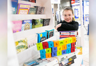 New lending library - for Co Armagh shopping centre