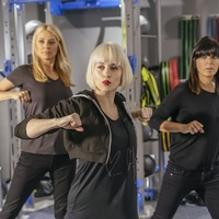Tess Daly and Claudia Winkleman train hard ahead of 24-hour danceathon