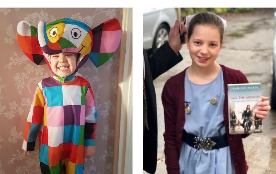 DAVID WALLIAMS COSTUME BOOK WEEK CHILDREN GIRLS Kids GANGSTA GRANNY ACCESSORY