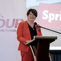 Arlene Foster named Female Politician of the Year at London event