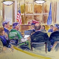Manafort sentenced to almost four years in prison for tax and bank fraud related to his work advising Ukrainian politicians