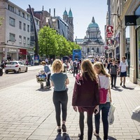 North reports fifth consecutive month of footfall growth against backdrop of overall UK decline