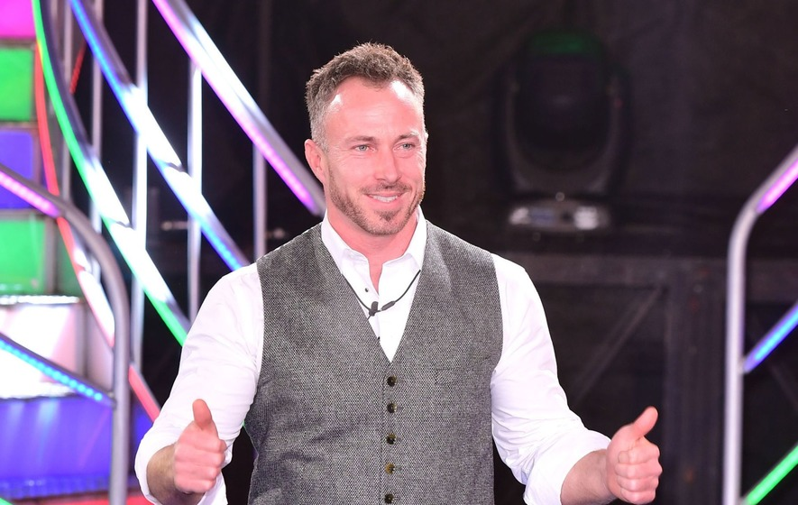James Jordan Swigs From Wine Bottle At Dancing On Ice After Party