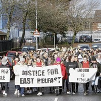 Loyalist group offers to meet east Belfast women about intimidation claims