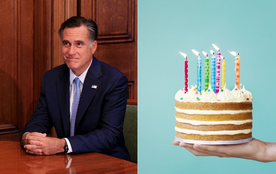 The US Politician Chose To Pick Up And Blow Out His Candles One By