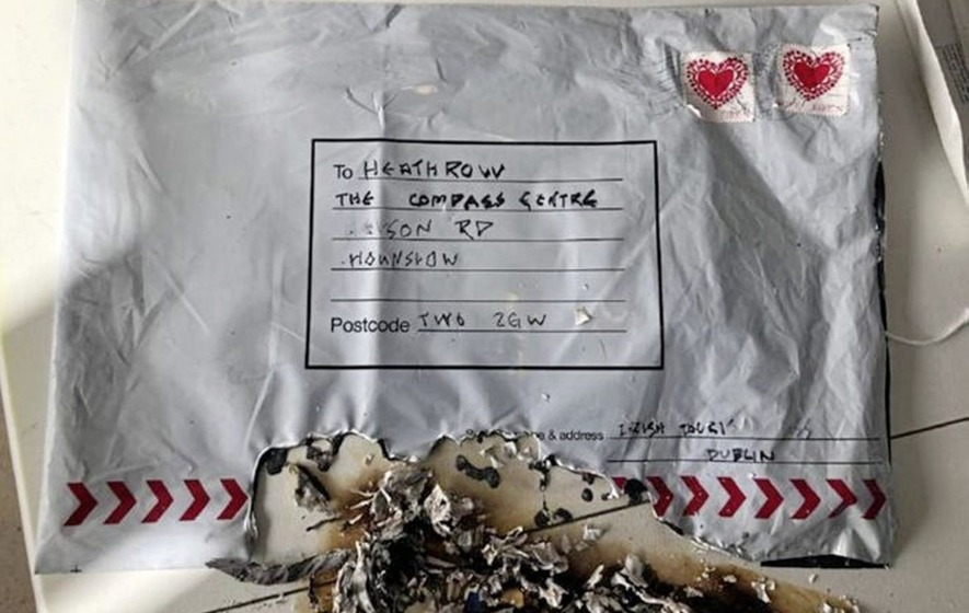 Irish authorities find parcel bomb similar to United Kingdom packages