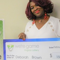 Woman wins 150,000 dollars after buying 30 lottery tickets with same numbers