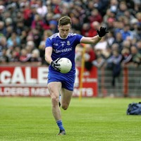 Niall Kearns 'mad keen to get back' - but Monaghan will continue to tread carefully