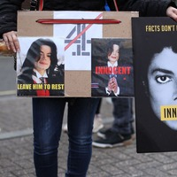 Michael Jackson 'innocent' posters to be removed from London buses