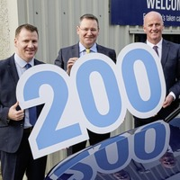 Crash fleet tops 200 after record year