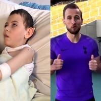 Spurs-mad boy receives Harry Kane message after hospital song goes viral