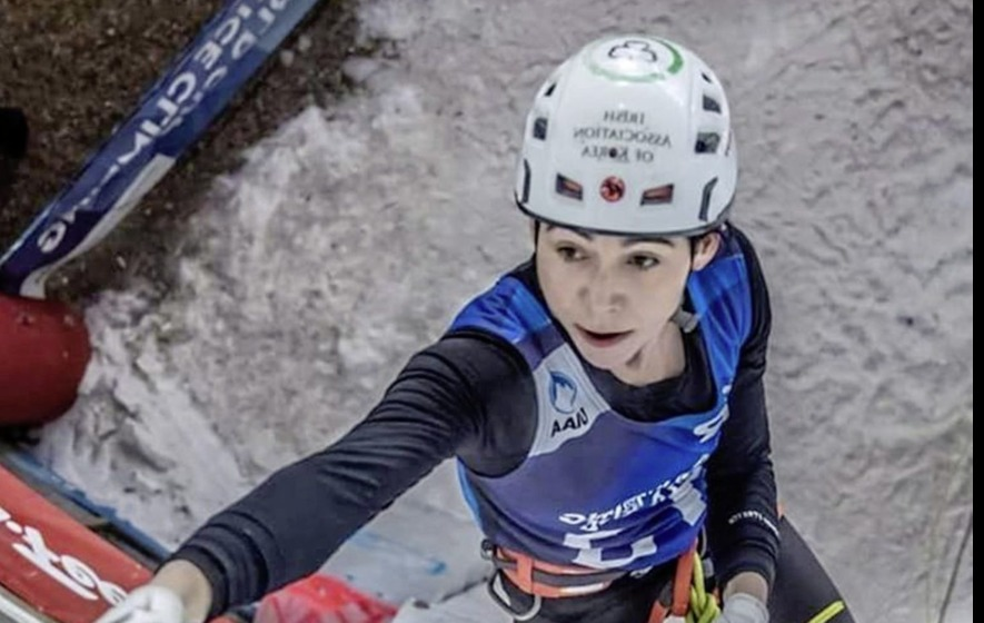 Gortin's ice-climber Eimir McSwiggan claims third place in World Cup in Denver
