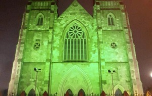 Hundreds of landmarks across 54 countries go green for St Patrick's Day