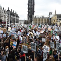 In Pictures: Children take to the streets to voice climate change concerns