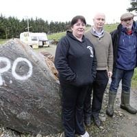 Council orders the removal of goldmine protest caravans