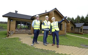 Center Parcs on target for summer opening as FastHouse complete lodges scheme