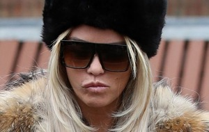 Katie Price to face trial accused of shouting abuse outside school