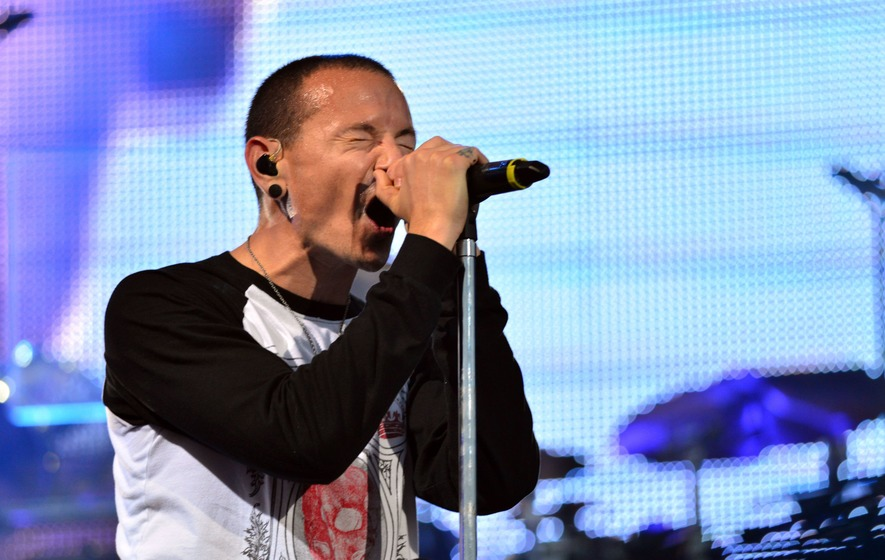 Chester Bennington's wife hopes he is 'dancing in Heaven' on his