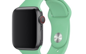 Pastel colour bands added to Apple Watch range