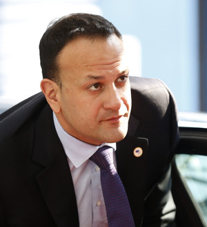 Leo Varadkar and Theresa May discuss Brexit in Brussels