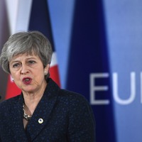 Theresa May dismisses revoking Article 50 after petition passes two million