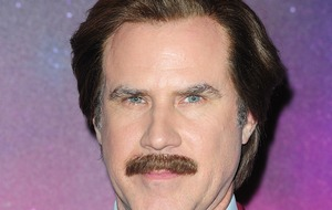 Anchorman's Ron Burgundy was guest commentator at LA Kings ice hockey match