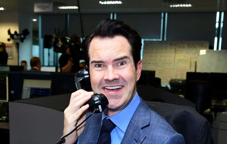 Jimmy Carr I Wanted My New Teeth To Look Like Someone S Opened A