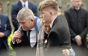 Greenvale Hotel tragedy: Priest at funeral of Morgan Barnard describes him as a 'vivacious, charismatic and energetic young man'