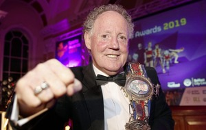 Hugh Russell inducted into Belfast City Council's Sporting Hall of Fame