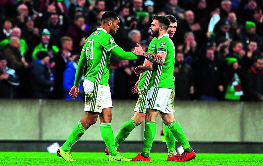 Northern Ireland leave it late to beat Belarus in Euro 2020 qualifier