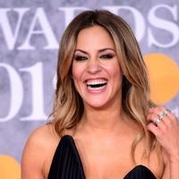 Caroline Flack believes live TV has prepared her for Bake Off pressure
