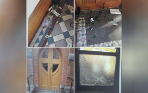 Drug needles found after break-in at west Belfast church