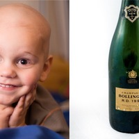 How a stolen champagne bottle symbolised a family's fight against cancer