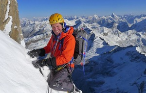 British climber who uses colostomy bag to lead Himalayan expedition