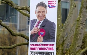 Mystery mock election posters put up across Belfast