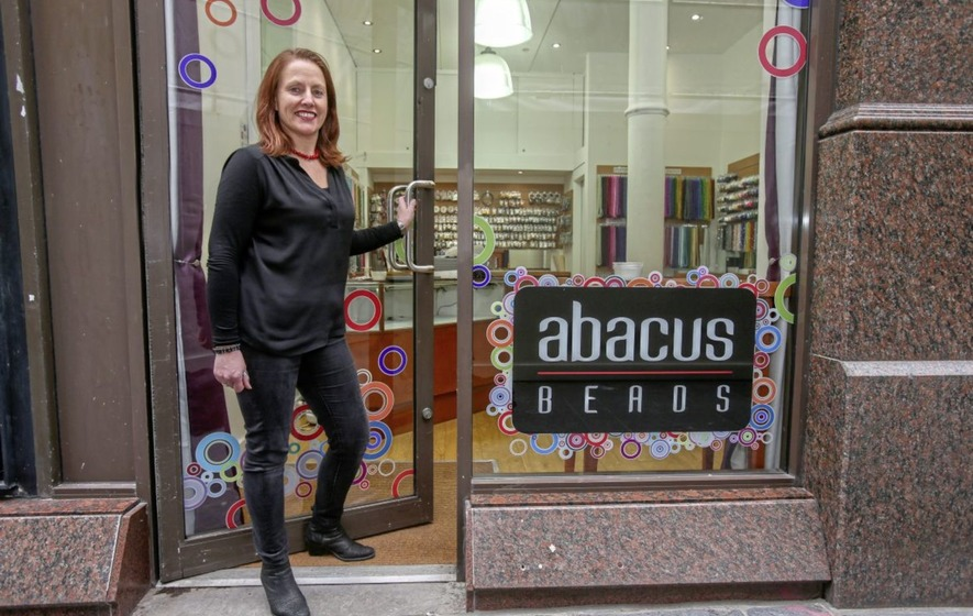 2af3bac3 Abacus Beads owner 'elated' to return to Castle Street as Zara also  prepares to reopen after Primark fire