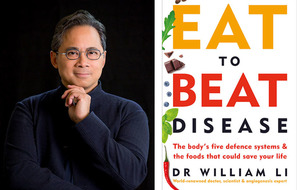 Health is on the menu with Dr William Li's Eat To Beat Disease