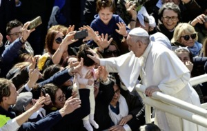 Pope shunned ring-kissing because he did not want to spread germs, Vatican says
