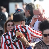 Fans line streets for funeral of Prodigy star Keith Flint