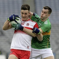 Derry's Shane McGuigan leaves Croke Park a winner after three previous defeats